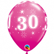 30 Sparkle Pink - 11 Inch Balloons 25pcs